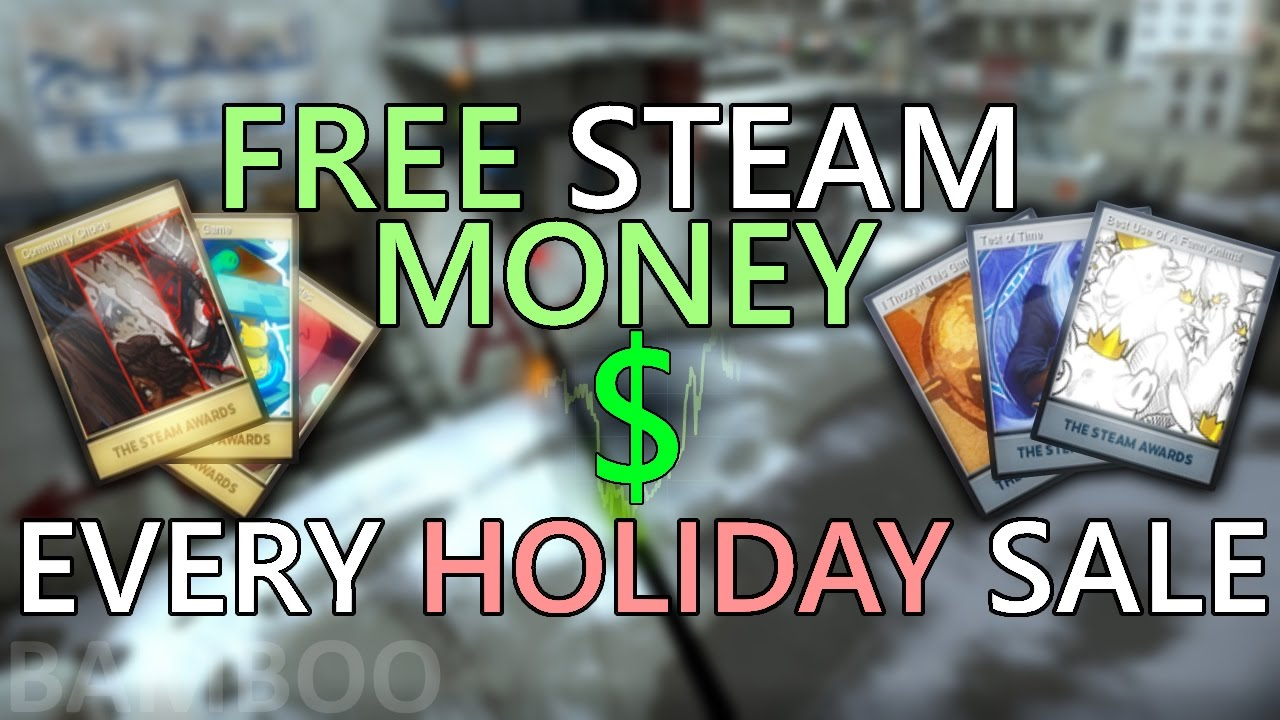 How to get steam money to real money