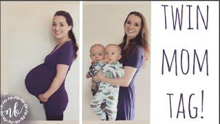 TWIN MOM TAG: BIRTH STORY, BREASTFEEDING, SLEEP TRAINING