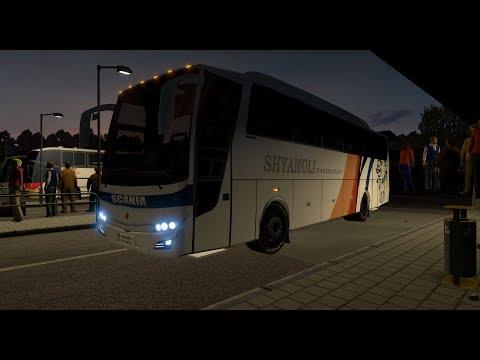 Euro truck Simulator 2 : Beautiful Scania exciting , relaxing ride
