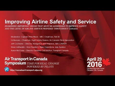 Part 5 - Air Transport in Canada Symposium