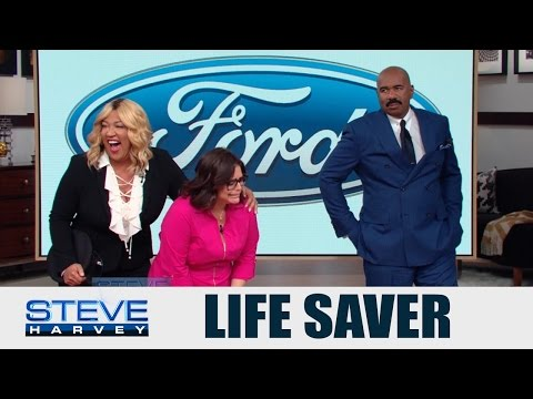 Ford's Game Changing Woman: A Life Saver || STEVE HARVEY