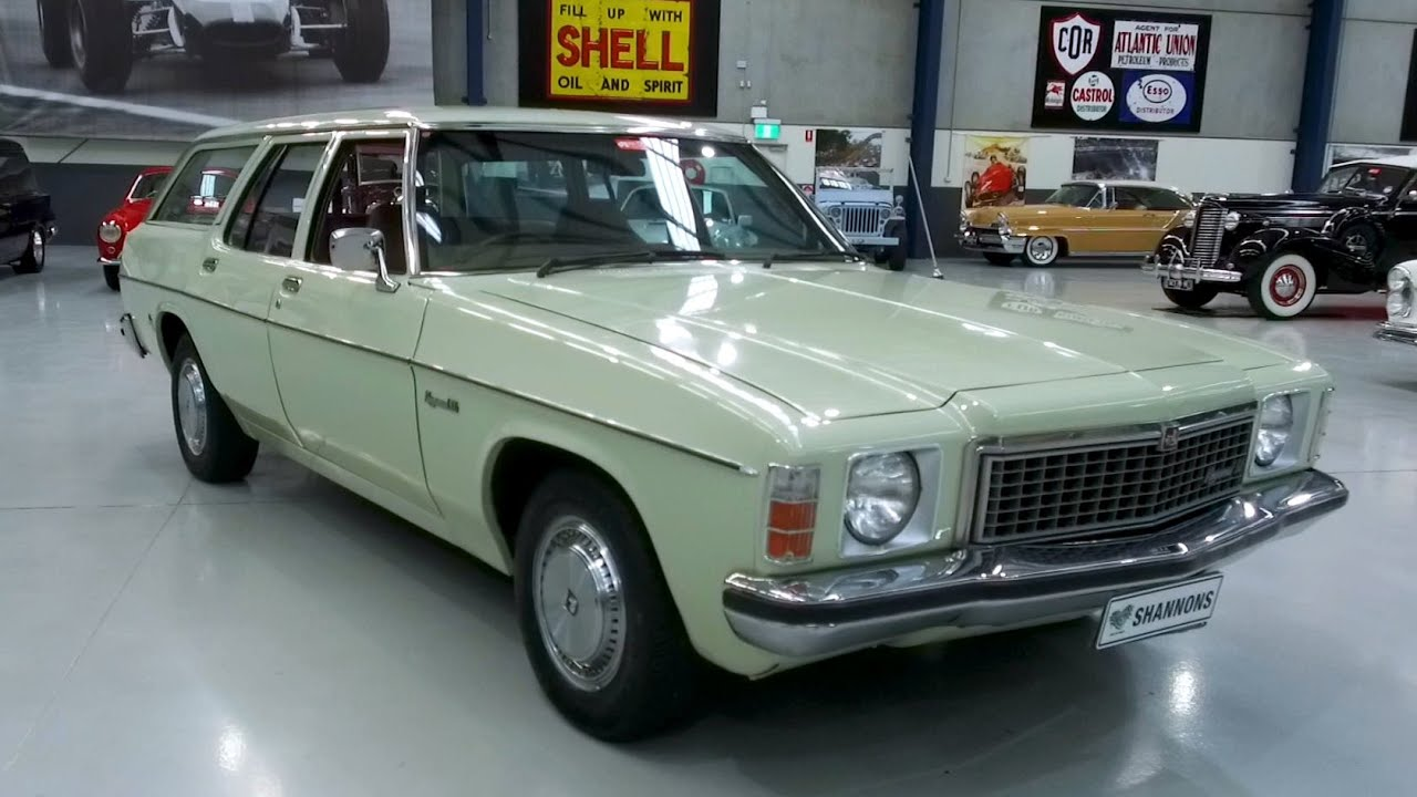 1978 Holden HZ Kingswood SL Station Wagon - 2020 Shannons Winter Timed Online Auction