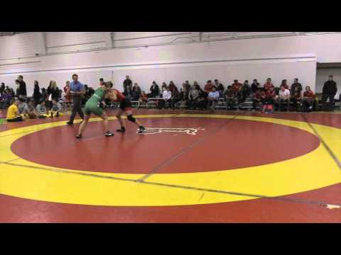 2015 Dino Invitational: 55 kg Kate Richey vs. Laryssa Barry