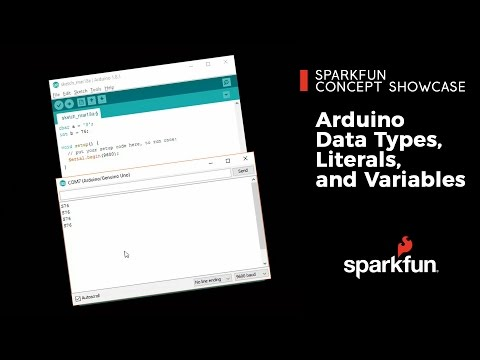 Arduino Data Types, Literals, and Variables