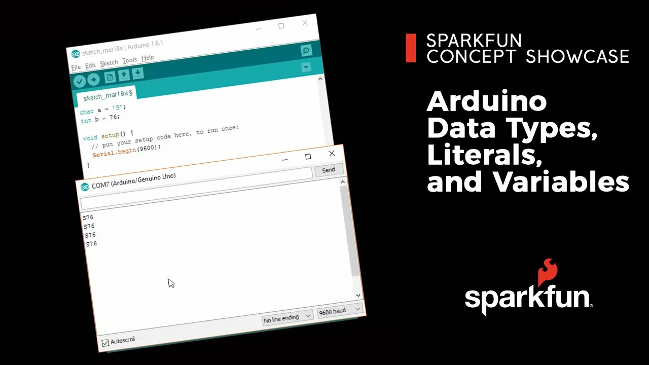 Adventures in Science: Arduino Literals, Variables and Data