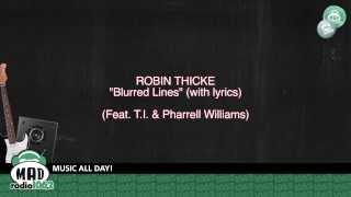 Repeat youtube video Robin Thicke - Blurred Lines ((feat. T.I. & Pharrell Williams)