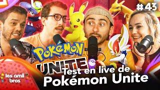 Test en live de Pokémon Unite ! 🎮 | Les Amiibros #43