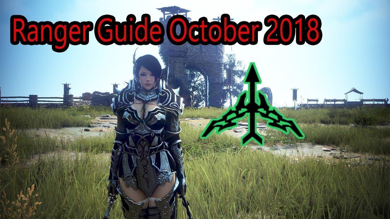 Black Desert - Ranger PvP Guide October 2018