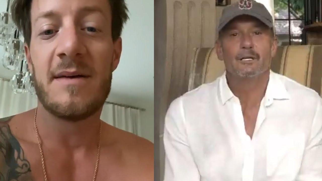 Florida Georgia Line's Tyler Hubbard Seriously Hurt In Crash, Tim McGraw Daughters