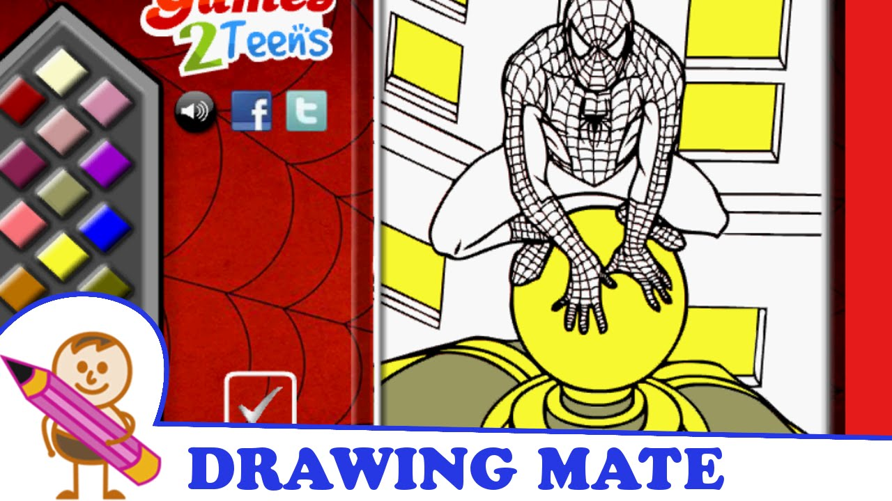spiderman coloring pages colouring book kolorowanki malowanki