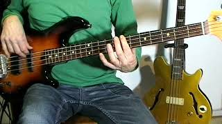 Gary Puckett & The Union Gap - Young Girl - Bass Cover
