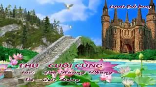 Lá Thư Cuối Cùng - Quang Trường - Karaoke