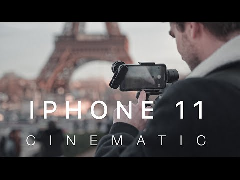iPhone 11 Cinematic in Paris I Anamorphic Lens by Sandmarc