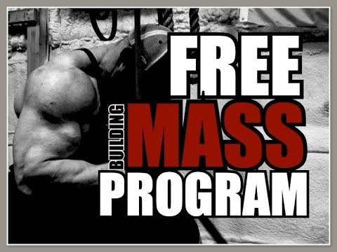 FREE MASS BUILDING PROGRAM!