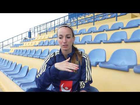 06/03/18 - Algarve Cup 2018 -  Interview with Kosovare Asllani (1080p HD)
