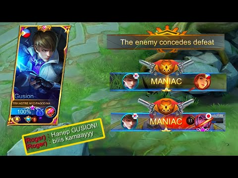 NO SKIN GUSION = ENEMY AUTO SURRENDER + 2x MANIAC | Astre