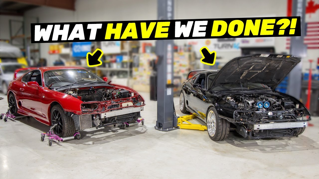 Ruining One Toyota Supra to Fix Another