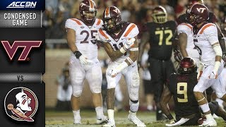 Virginia Tech vs. Florida State Condensed Game | 2018 ACC Football
