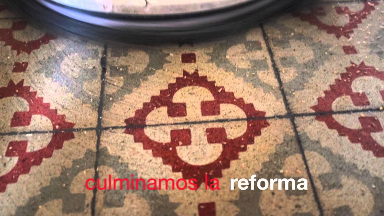 Pavimento Hidrulico Creacin Delphine Borg Azulejos Mosaico  ~ Como Limpiar Suelo Hidraulico Antiguo