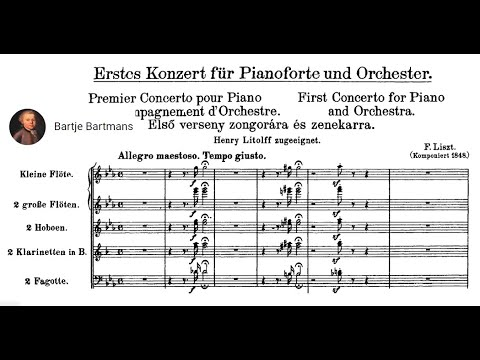 Franz Liszt - Piano Concerto No. 1 in E-flat major, S.124 {René Duchâble}