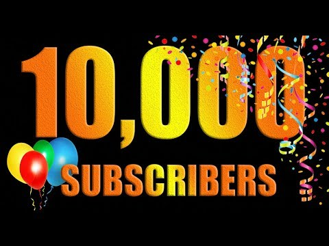 🤩🎉🎊10000 Subscribers Completed 🎉🎊🎉 - YouTube