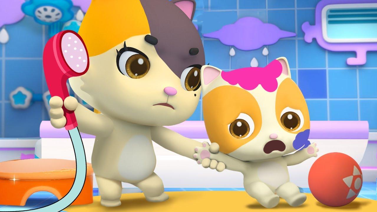 たのしいおふろのじかん★おふろのうた | よい生活習慣 | 赤ちゃんが喜ぶ歌 | 子供の歌 | 童謡 | アニメ | 動画 | ベビーバス| BabyBus