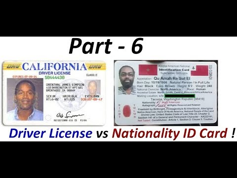 Driver License Fraud: Indigenous Americans 'Not' required to have Colonial Driver Licenses (Pt. 6) !