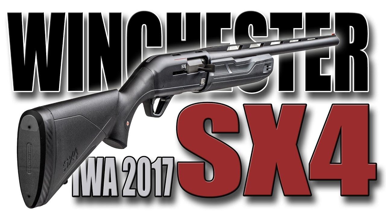 Winchester SX4 shotgun - IWA 2017 - YouTube