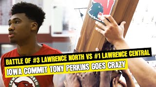 GAME OF THE YEAR #3 LAWRENCE NORTH TAKES DOWN #1 LAWRENCE CENTRAL IN THE BATTLE OF LAWRENCE TOWNSHIP