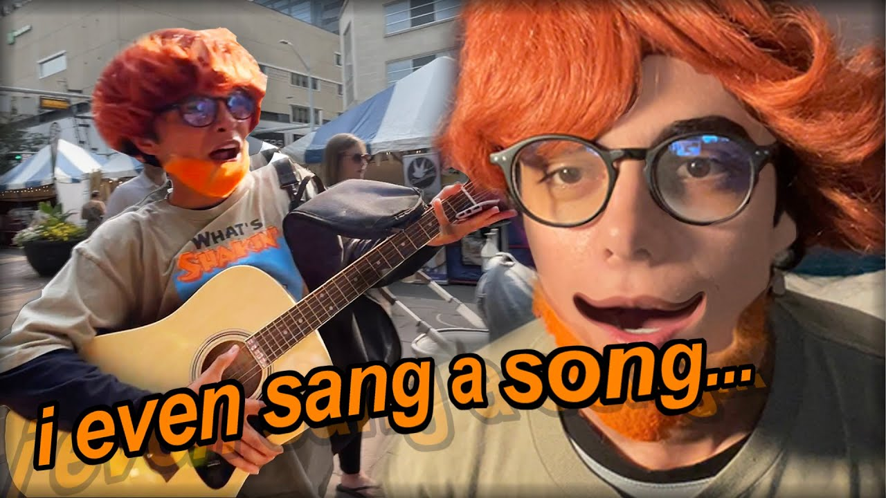 being ED SHEERAN for 24 HOURS