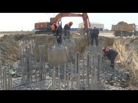 Номер 173: готова первая опора моста через Керченский пролив
