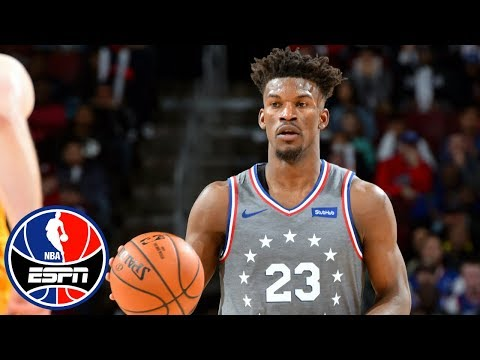 Jimmy Butler leads 76ers in home debut with 28 points in win vs. Jazz | NBA Highlights