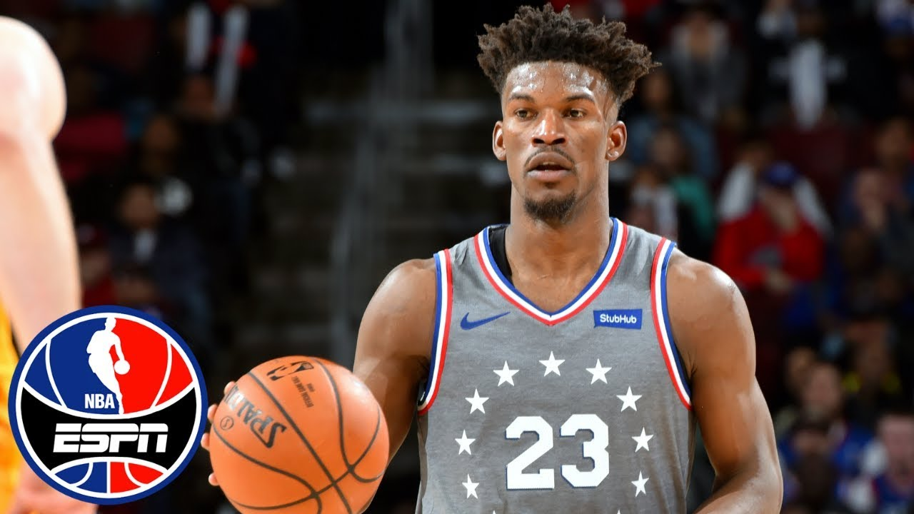 Jimmy Butler leads 76ers in home debut with 28 points in win vs. Jazz  fe889f986