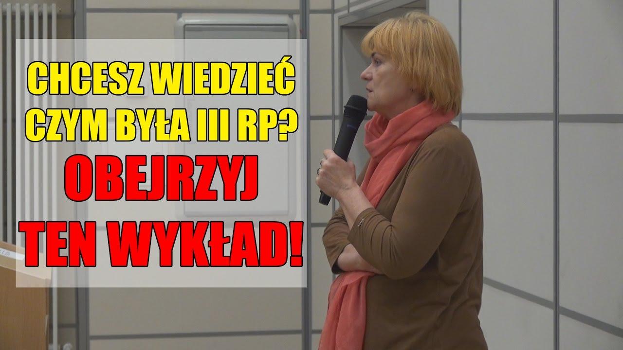 """MOCNY WYKŁAD! """"Politycy uwikłani w niebezpieczne związki"""" – Dorota Kania"""