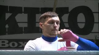 Александр Усик, Денис Беринчик. Открытая тренировка перед вечером бокса 12 декабря