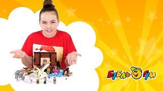 """LEGO """"Чемоданчик Ньюта Саламандра"""" из фильма """"Фантастические твари и где они обитают"""""""
