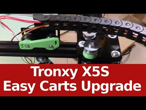 Tronxy X5S Easy Upgrade Carts to best performance - Sub EN