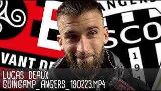 LUCAS DEAUX RÉAGIT APRÈS GUINGAMP - ANGERS (1-0) / Ligue 1 - 23 février 2019