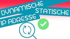 Statische und dynamische Ip Adressen