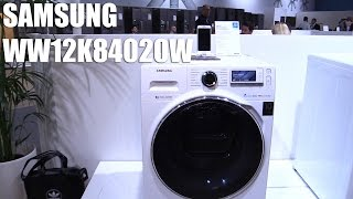 Samsung Addwash Waschmaschine mit Wifi Smart Control (WW12K84020W) Vorstellung | Allround-PC.com