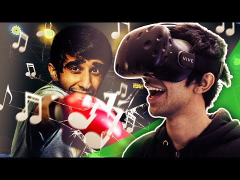 FIGHTING MUSIC! - VIRTUAL REALITY on HTC VIVE