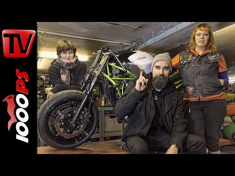 The Twin Project  - Kawasaki Z650 und W650 Umbau by The CURVES - Teil 1