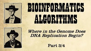 From a Biological Insight Toward an Algorithm for Finding the Replication Origin (Part 1)