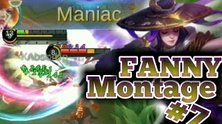 Maniac with deadly friction | Fanny Montage#7 | Mobile Legends Bang Bang