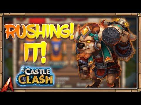 RUSHING GUILD WARS IN HURRICANE! Castle Clash