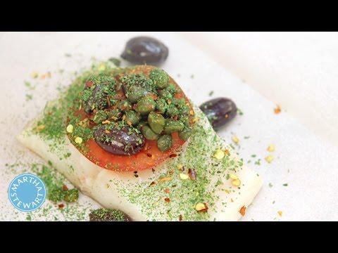 Martha Stewart's Fish En Papillote Recipe - Martha Stewart