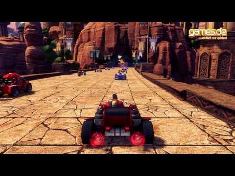 Sonic & SEGA All-Stars Racing Transformed angezockt [Deutsch] [HD] [games.de]