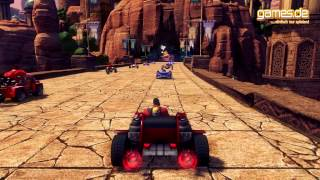 Sonic & SEGA All-Stars Racing Transformed angezockt [Deutsch] [HD] [games.de]