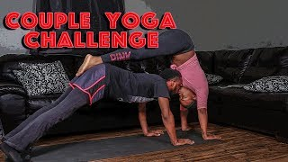 Couple Yoga Challenge (Funny but a Fail!) 🤣