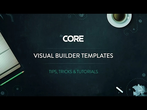 the-core-how-to-use-visual-builder-templates